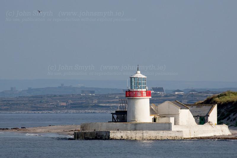 Lighthouse on Inis Mor