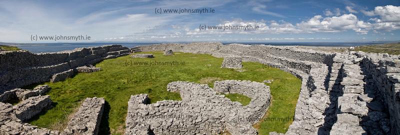 Dun Chonchuir fortress on Inish Meain (of the Aran Islands).