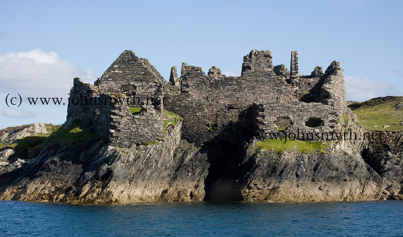 Cromwellian fort overlooks the harbour at Inishbofin Island, off the west coast of Ireland.