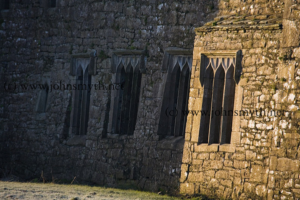Detail from Ross Errily  friary, near Headford, Co. Galway