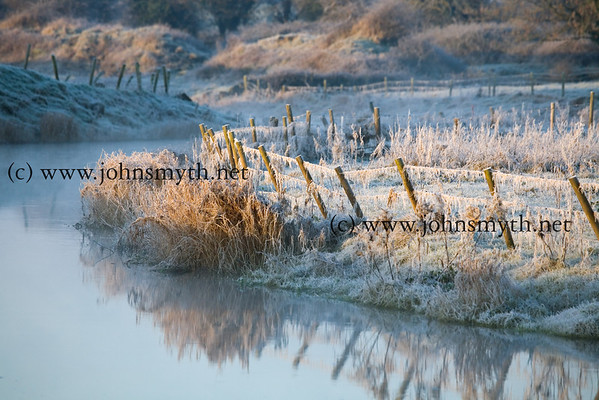 Beside Ross Errily friary, near Headford, Co. Galway, at sunrise