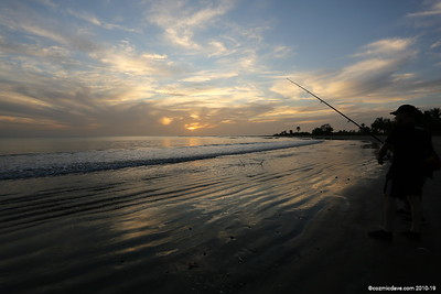 Sea fishing at Gunjur Beach