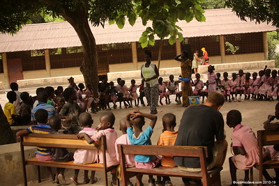 Gunjur Community School Pupils