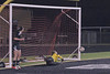 Many shots on goal during the game.  Keeper saves this one - no goal.