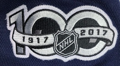 Bjorkstrand 2017-2018 Game Worn Jersey Patch