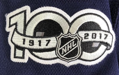 Johnson 2017-2018 Game Worn Jersey Patch