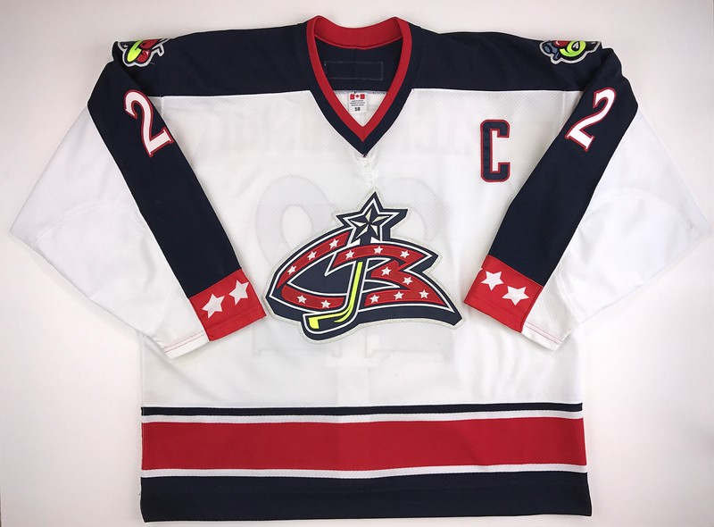 Richardson 2003-2004 Game Worn Jersey Front
