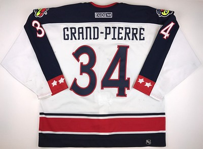 Grand-Pierre 2001-2002 Game Worn Back