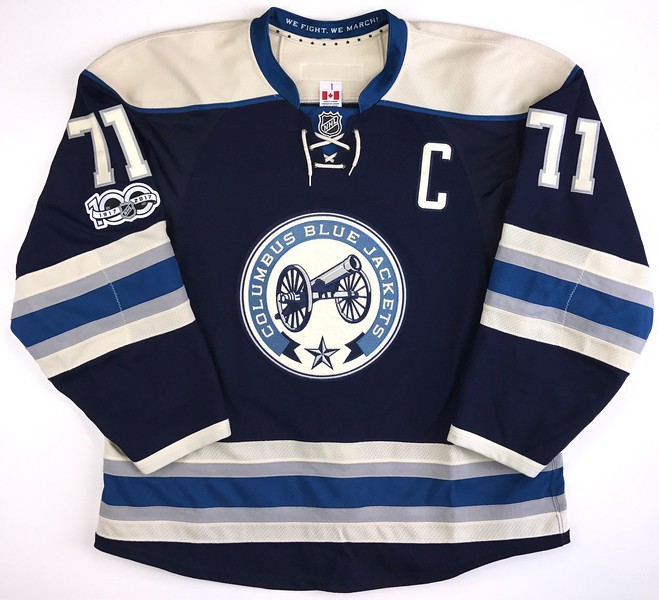 Foligno 2016-2017 Game Wron Jersey Front