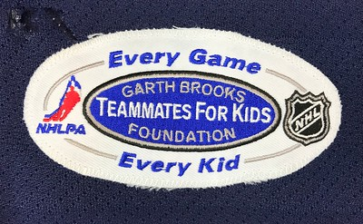 Modin Garth Brooks Game Worn 1 9 2007 Patch