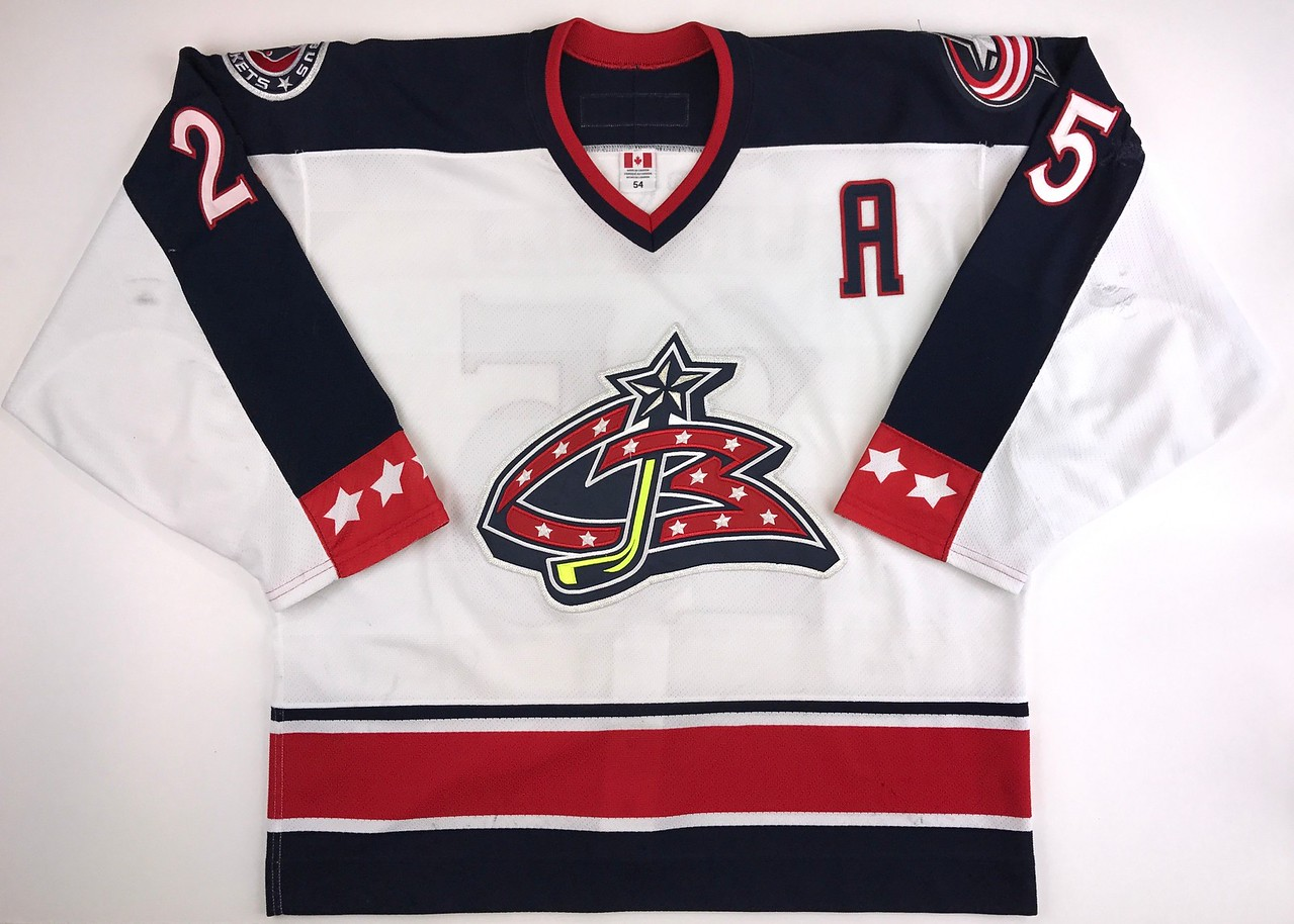 Cassels 2003-2004 Game Worn Jersey Front