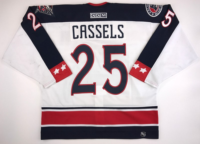 Cassels 2003-2004 Game Worn Jersey Back