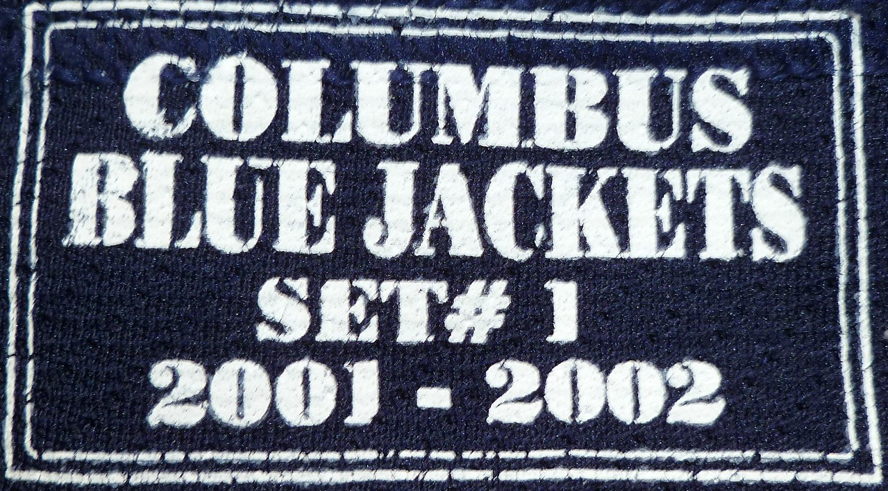 Quint 2001-2002 Game Worn Jersey Set Tag