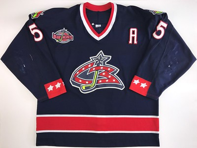 Pusher 2000-2001 Game Worn Jersey Front