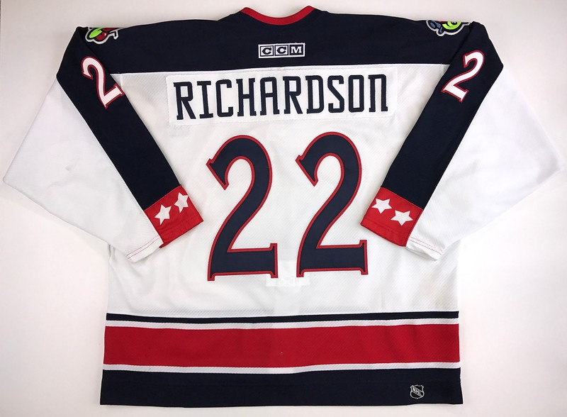 Richardson 2003-2004 Game Worn Jersey Back