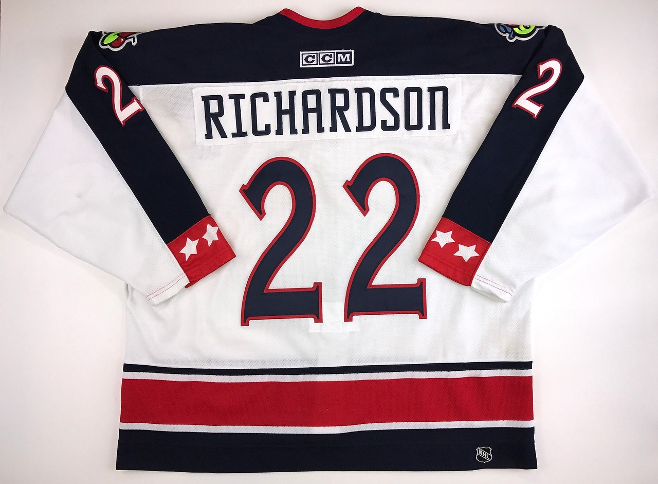 Richardson 2003-2004 Game Worn Jersey Back