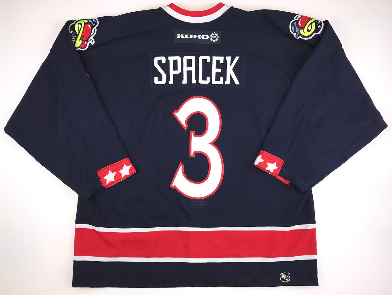 Specak 2002-2003 Game Worn Jersey Back