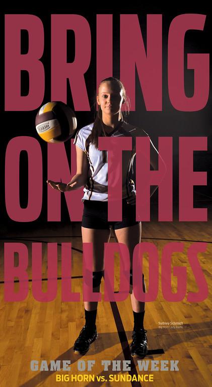 Big Horn volleyball vs. Sundance