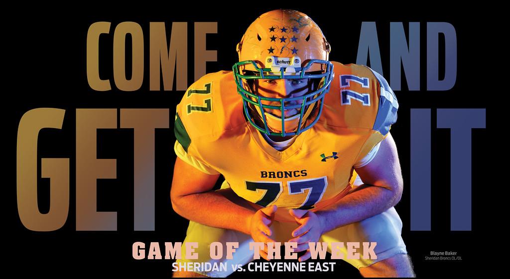 Sheridan football vs. Cheyenne East