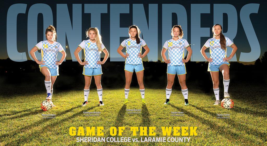Sheridan College women's soccer vs. Laramie County