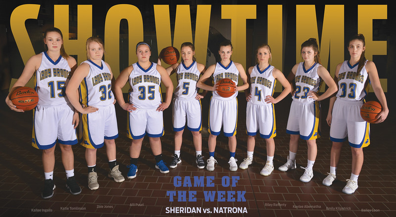 Sheridan girls basketball vs. Natrona