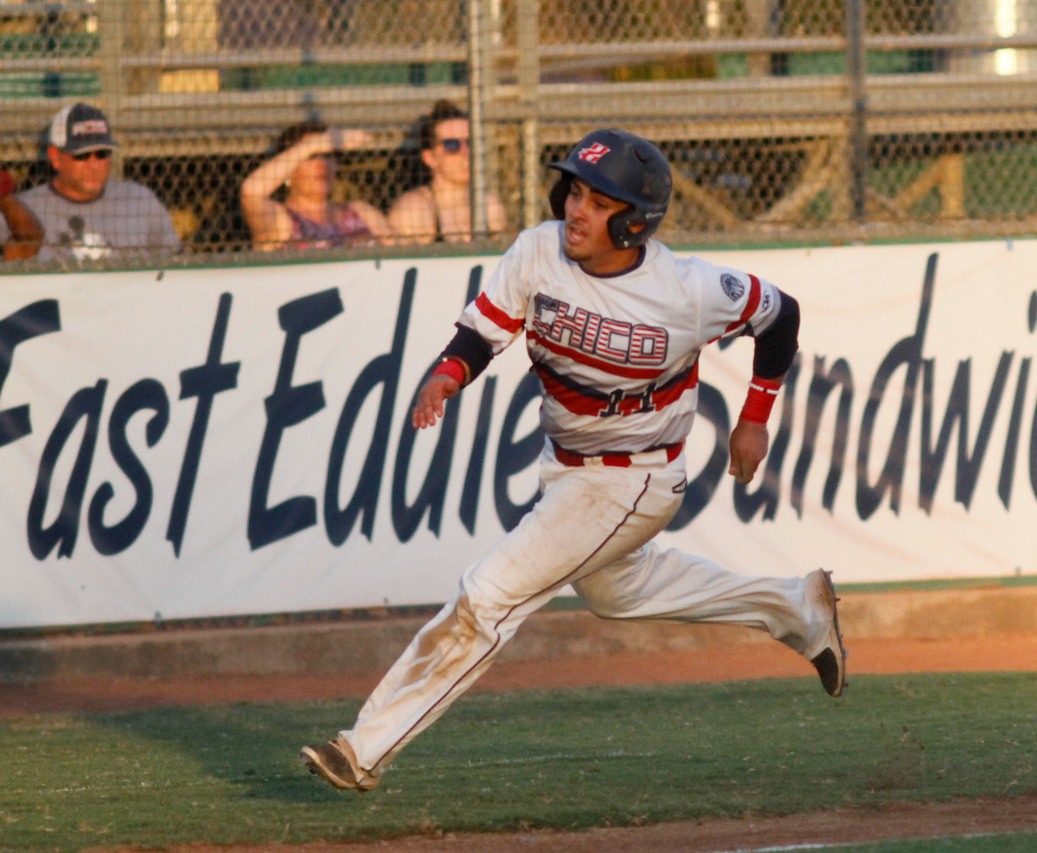 Chico Heat hosts the Lincoln Potters in a playoff game Wednesday August 9, 2017 at Nettleton Stadium in Chico, California. (Emily Bertolino -- Enterprise- Record)