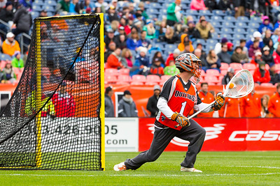Denver Outlaws, goalie, Ryan LaPlante, save