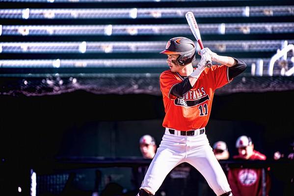 Idaho Falls Tigers Hillcrest Knights Baseball