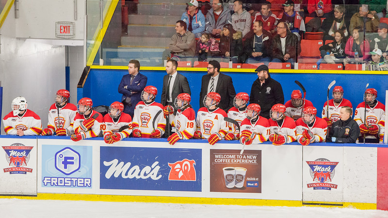 "2016-2017 Mac's Tournament Opening and Pre-game ceremonies for Game #10 (male) NW Midget AAA (Calgary) Flames vs. Hungarian National U18 hockey team. December 26, 2016.  <a href=""http://www.laine.ca"">http://www.laine.ca</a>"