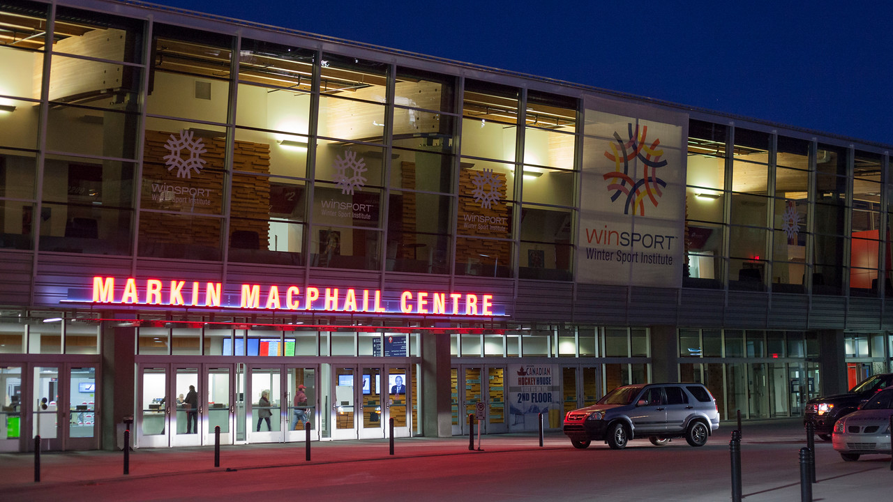 CALGARY(AB) October 16, 2015 - Markin MacPhail Centre at Winsport Canada (Calgary).