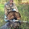 Dr robinson bags first turkey with gamefacecalls team and combo slate call