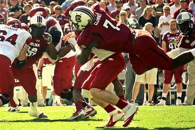 November 10, 2012 South Carolina Gamecocks 38, Arkansas Razorbacks 20 Williams-Brice Stadium, Columbia, SC