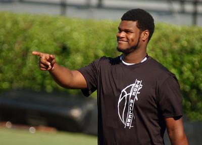 July 26, 2013 South Carolina Gamecocks Black Magic Showcase Camp at Williams-Brice Stadium in Columbia, S.C.