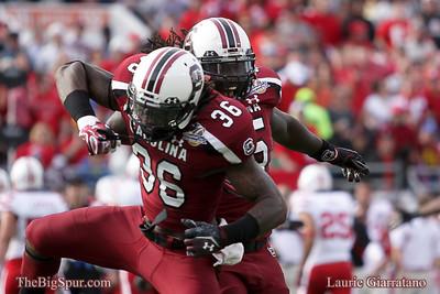 Capital One Bowl South Carolina Gamecocks 30, Nebraska Cornhuskers 13 Florida Citrus Bowl January 2, 2012
