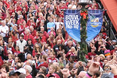 South Carolina Gamecocks vs Wisconsin Badgers Capital One Bowl in Orlando, Fla.