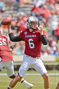 April 12, 2014 South Carolina Gamecocks Garnet and Black Spring Game at Williams-Brice Stadium in Columbia, SC