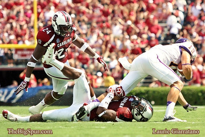 September 8, 2012 South Carolina Gamecocks 48, East Carolina Pirates 10 Quin Smith