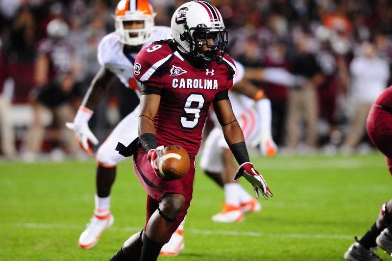 South Carolina Gamecocks 34, Clemson Tigers 13  Williams-Brice Stadium  November 26, 2011
