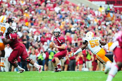 October 27, 2012 South Carolina Gamecocks 38, Tennessee Volunteers 35 Williams Brice Stadium Columbia SC