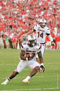 September 7, 2013 Georgia Bulldogs 41, South Carolina Gamecocks 30 at Sanford Stadium in Athens, Ga.