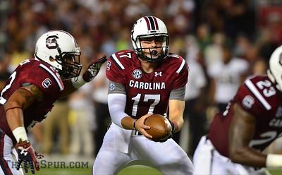 September 14, 2013 South Carolina Gamecocks 35, Vanderbilt Commodores 25 at Williams-Brice Stadium in Columbia, S.C.