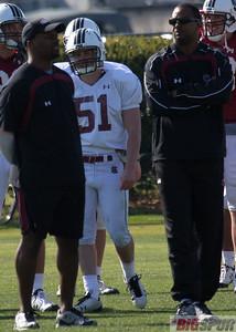 RB Coach Jay Graham and DB Coach Lorenzo Ward