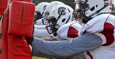 South Carolina Gamecocks Spring Practice 6 at Williams-Brice Stadium in Columbia, SC