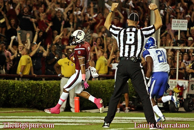 October 5, 2013 South Carolina Gamecocks 35, Kentucky Wildcats 28 at Williams-Brice Stadium in Columbia, S.C.