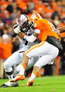 November 24, 2012 South Carolina Gamecocks 27, Clemson Tigers 17 Memorial Stadium, Death Valley, Clemson, SC