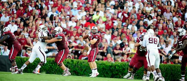 August 28, 2014 Texas A&M Aggies 52, South Carolina Gamecocks 28