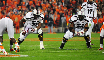 November 24, 2012 South Carolina Gamecocks 27, Clemson Tigers 17