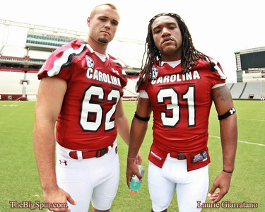 South Carolina Gamecock Football 2012 Media Day