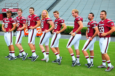 August 3, 2014 South Carolina Gamecocks Football Media Day at Williams-Brice Stadium in Columbia, SC