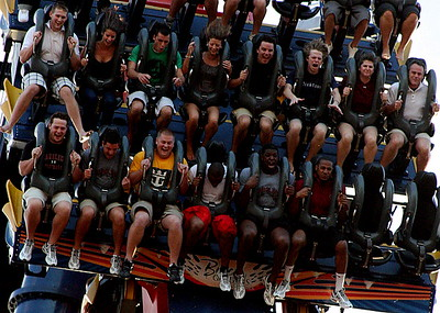 Spencer Lanning, Nate Spurrier, Gerrod Sinclair, Clifton Geathers and Tori Childers at the drop! Ahheeeiii!